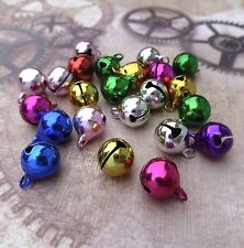 Colourful Jingle Bells with Loop Pack of 30