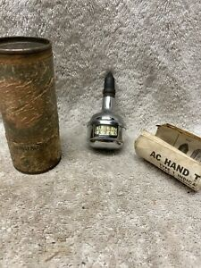 Vintage Original AC Delco Hand Tachometer Type 2 with instructions