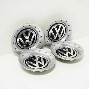 Volkswagen Golf Bora Wheel Covers Caps Set 1J0601149NJWZ New Genuine