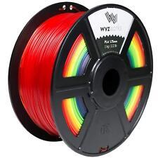 WYZwork 3D Printer Premium PLA Filament 1.75mm 1kg/2.2lb - RAINBOW