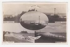 """RPPC,Herne Bay,U.K.5 Views,""""Rough Seas"""",Kent,Used,c.1910"""