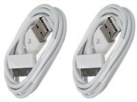 2x USB Charger Cable 3ft Sync Data Charging Cord Apple iPhone 4/4S/iPad/iPod US