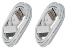 2x USB Charger Cable 6ft Sync Data Charging Cord Apple iPhone 4/4S/iPad/iPod US