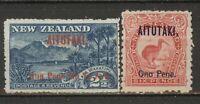 Lot Lot Aitutaki 1903, mint, NO GUM!!!, 399