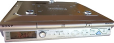 New listing Sony Tv/ Weather/ Fm/ Am 4 Band Under Cabinet Cd Clock Radio Icf-Cd543Rm Vgc