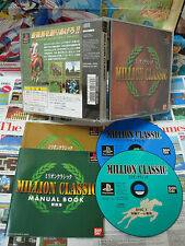 Playstation PS1:Million Classic [TOP BANDAI & 1ERE EDITION] COMPLET - Jap