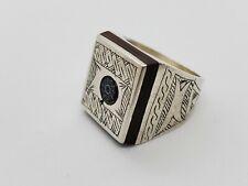 Handmade African Tuareg Ring Ethnic Tribal Jewelry Silver Gypsy Bohemian Artisan