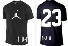 Nike Mens Air Jordan Retro Placement Short Sleeve  T-Shirts 2X Large 823333-010