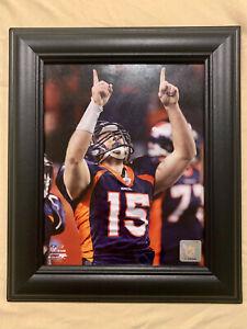 NFL Football Tim Tebow Broncos framed 8x10 photo