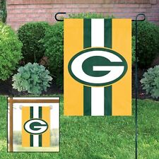 GREEN BAY PACKERS Embroidered Garden Window FLAG w/FREE Window Hanger