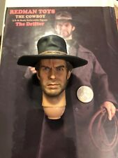 "Redman Cowboy Le Drifter Clint Eastwood 12"" Head Sculpt loose échelle 1/6th"