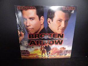 Laserdisc, Broken Arrow, Very Good Condition! Complete