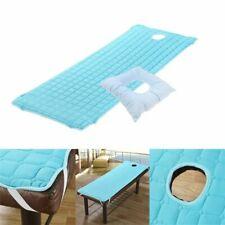 Massage Bed Mattress Sheet With Face Cradle Cushion Pillow Pad Set