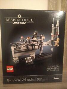 Lego Star Wars Bespin Duel 75294 New & sealed (minor shelf wear)