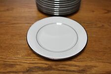 Set of 4 Noritake China TAHOE 2585 Bread and Butter Plate 6.375 in FREE SHIPPING