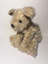 Ty Plush Taffy the Dog Scruffy Stuffed Animal 1997 Tan Puppy Terrier