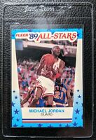 1989 FLEER STICKER #3 MICHAEL JORDAN CHICAGO BULLS HOF GEM MINT