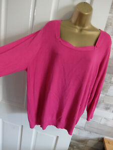 GEORGE ● size 22 ● pink jumper top womans