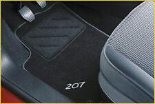 Genuine Peugeot 207 Tailored Carpet Front & Rear Car Mats 9664VH 2006-2012