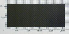 1,55mm Carbon Platte Kohlefaser CFK Platte ca. 249mm x 102mm