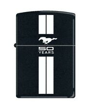 Zippo 2239 Ford Mustang 50 Years Black Matte Lighter
