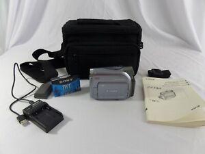 Canon ZR500  Mini DV NTSC Stereo Camcorder VCR Player Video Transfer w/ case
