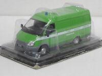 GAZ 2705 Transporter-- grün- 1/43--IXO/IST/Kultowe Auta--NEU--OVP