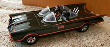 HUGE 1966 BATMOBILE with 6 inch Batman & Robin by Mattel Excellent Condition