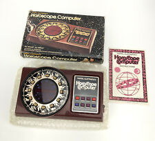 VTG Mattel Horoscope Computer Handheld Game 1979 New In Open Box VERY RARE