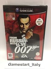 007 FROM RUSSIA WITH LOVE NINTENDO GAME CUBE GC - PAL NUOVO NEW SEALED GAMECUBE