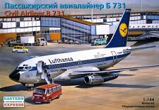 EASTERN EXPRESS 14415 - Civil Airliner BOEING-737-100 LUFTHANSA 731 / Satz 1:144