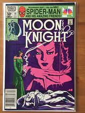 Moon Knight 14 VF 1st Stained Glass Scarlet