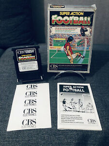 ✅⚽️Super Action Football - CBS Colecovision - Notice 🇫🇷 RARE