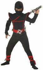 California Costumes Stealth Ninja Boy's Costume Large (Age10-12 Years)