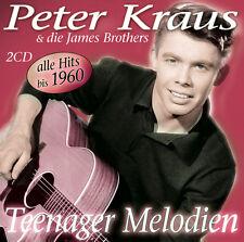 CD Peter Kraus Teenager Melodien incl Die James Brothers  2CDs