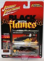 JOHNNY LIGHTNING 1:64 2018 Street Freaks W4/A # 2 1949 HUDSON HORNET BLACK FLAM