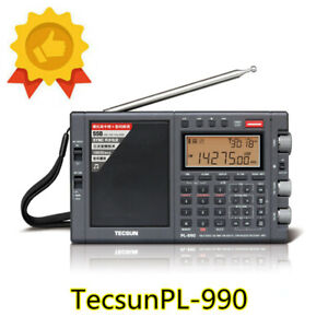 TECSUN PL-990x PLL Triple Conversion AM/FM Longwave Shortwave SSB Radio Receiver