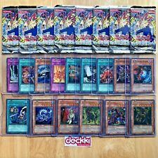 8X Invasion of Chaos 1st Edition Opened Booster Packs & 15 Holos - (IOC) YuGiOh!
