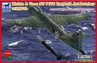 "BLOHM & VOSS BV P178 TORPEDO JET BOMBER 1/72 BRONCO - ""LUFTWAFFE '46 + RSI"""