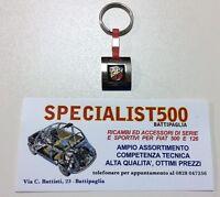 FIAT 500 F/L/R PORTACHIAVI IN METALLO - LOGO ABARTH