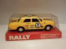 Rare 1970's Lucky Toys plastic friction driven Mercedes Rally Car Shop Stock
