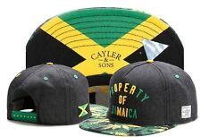 Cayler&Sons Property of Jamaica Baseball Cap Hip-hop Adjustable Snapback Hat