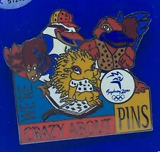 Sydney 2000 Olympic Games Badge Pin - We're crazy about Pins