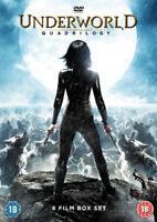 Underworld Quadrilogy DVD (2016) Kate Beckinsale, Wiseman (DIR) cert 18 4 discs
