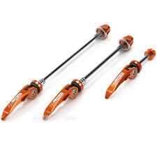 XLC l05 Quick Release Set Kit Quick Release MTB Bike CNC Trekking QR Orange