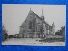 SAINT-CRÉPIN-AU-BOIS  :  L' Eglise.