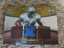 Kevin Jones 2007 Upperdeck Artifacts Nfc Apparel Gold Football Card /99 Nfc-Kj