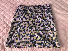 Iconic Gorman Pink Leopard Print Skirt Size 10