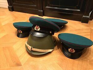 USSR Size 57- 58 Afghan War Border Guard (KGB USSR) M1969 Visor Cap Replica