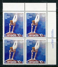 """MNH 10c +5c """"Wood Grain"""" UNLISTED Tagging Variety Plate Block (Lot #RN144)"""